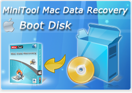 MiniTool Mac Data Recovery Boot Disk