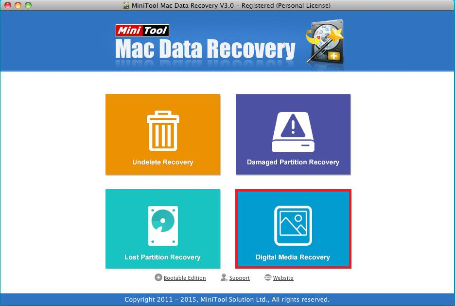 Recover lost pictures from HFS+ partition