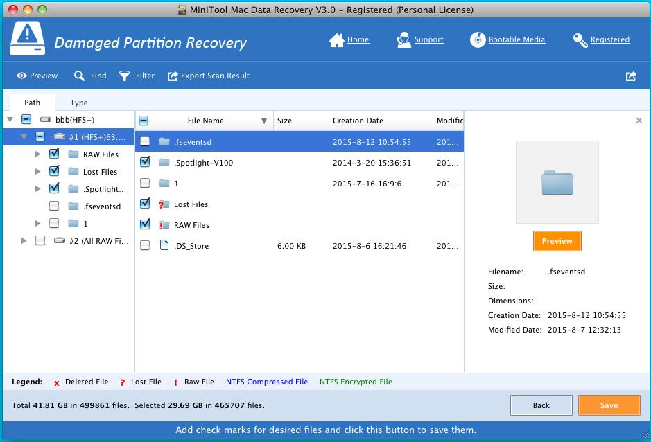 Recover Data from Damaged HFS+ Partition 3
