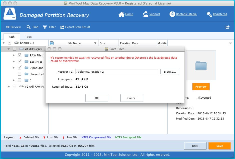 Recover Data from Damaged HFS+ Partition 4