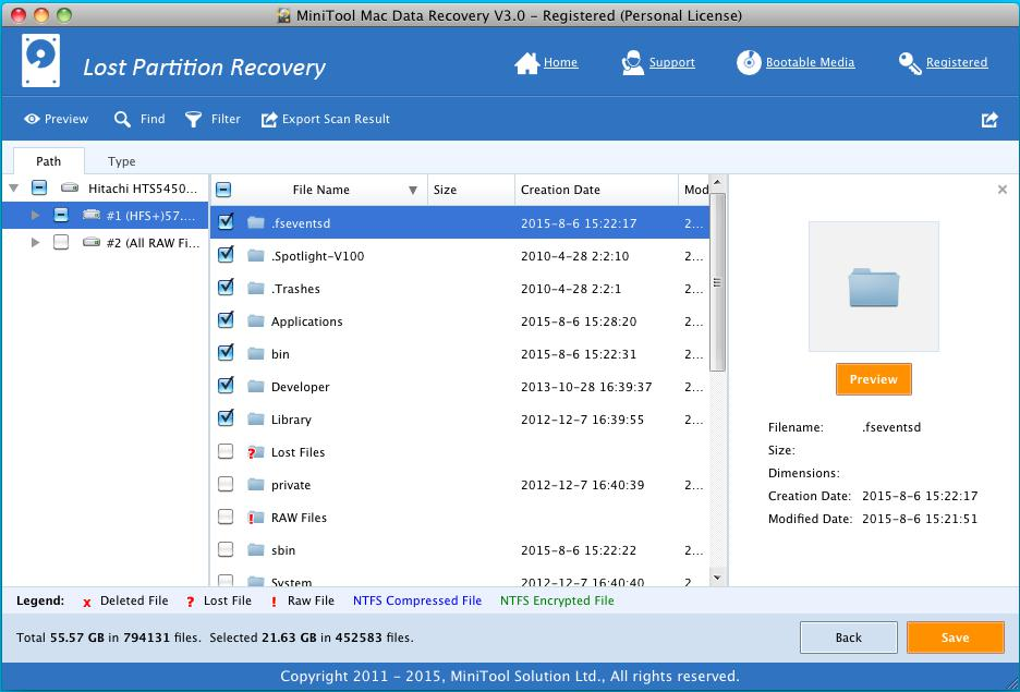 Lost Partition Recovery 3