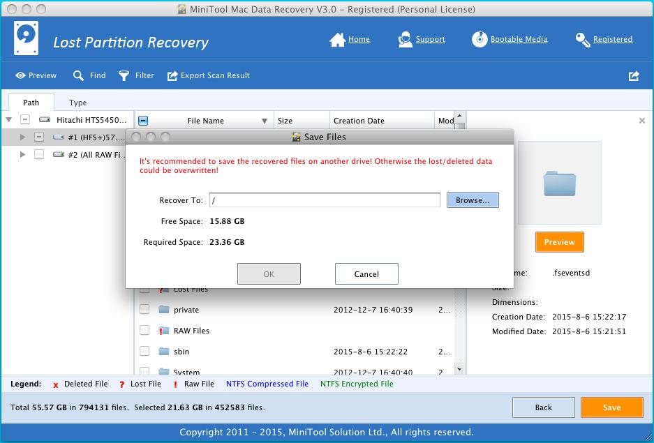 Lost Partition Recovery 4