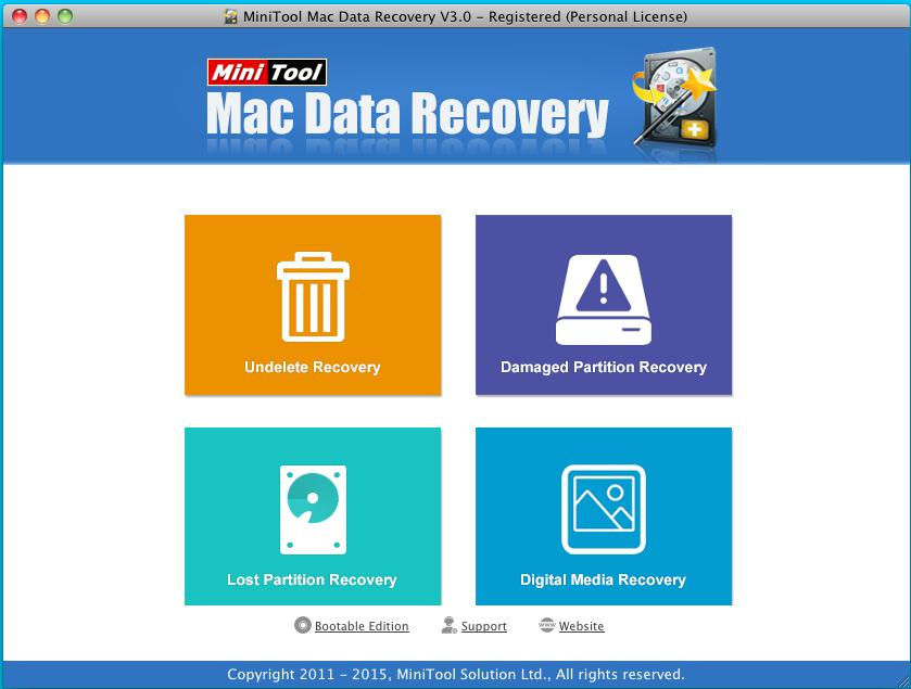 Introduction to MiniTool Mac Data Recovery